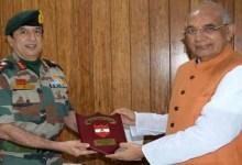 Tripura: GOC Spear Corps calls on Governor
