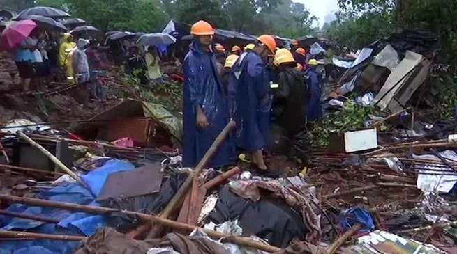 Mumbai wall collapse: 16 people dead, 13 injured