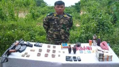 Assam: Security forces apprehended NSCN(IM) area commander