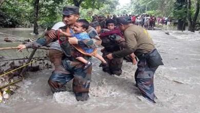 Photo of Assam Flood: Messiah in Uniform save hundreds of Lives