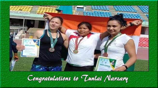 After Hima Das, Tunlai Narzary of Assam makes India proud by winning gold in a global event