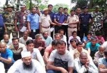Assam: Thirty illegal immigrants were deported to Bangladesh