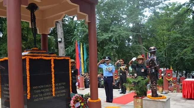 Meghalaya: Kargil Vijay Diwas celebrated in Shillong