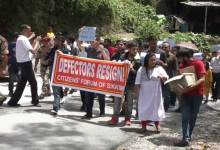 Sikkim : SPYF protest rally against recent SDF defection