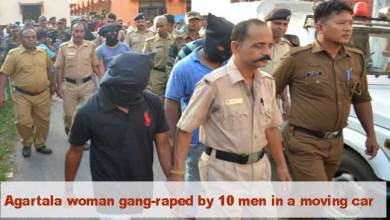 Tripura: Agartala woman gang-raped by 10 men in a moving car, 4 arrested