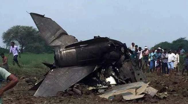 MP: IAF MIG-21 Trainer Aircraft Crashes in Gwalior