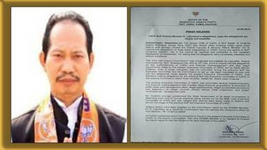 Photo of Mizoram: BJP Leader Shanti Jiban Chakma rejects Lalzirliana's allegations of corruption