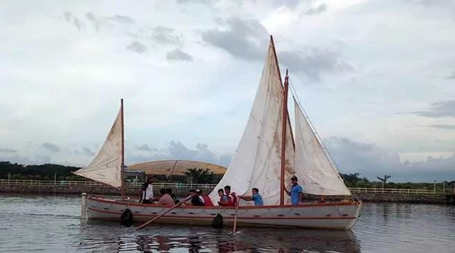 Assam: First Ever Brahmaputra Sailing Expedition by NCC