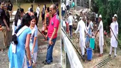 Photo of Assam: Swachhta Hi Sewa- Drive to Clean Dhaleswari river in Haialakandi