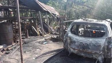 Photo of Meghalaya: Fire broke out in Bakur village, Rescue by BSF