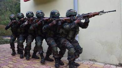 Indo-China joint exercise is under progress in Meghalaya