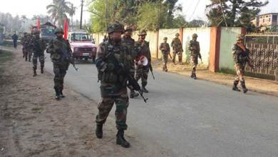 Assam: Troops of Assam Rifles restore normalcy in Tinsukia