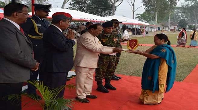 Assam: Ex-servicemen rally held at Narangi Military station
