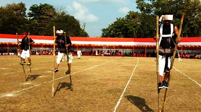 Indian Army organises Karbi Traditional games