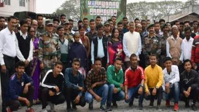 Assam: 81 youth of Lower Assam join Army
