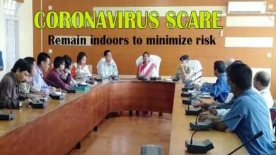 Coronovirus Scare: Remain indoors to minimize risk- DC Hailakandi