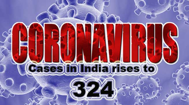Coronavirus Crisis LIVE UPDATE: Cases in India rises to 324