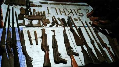 Assam: Huge cache of Arms, Ammunitions recovered from Kokrajhar