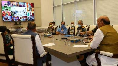 Photo of Rajnath Singh reviews operational & covid-19 preparedness of armed forces