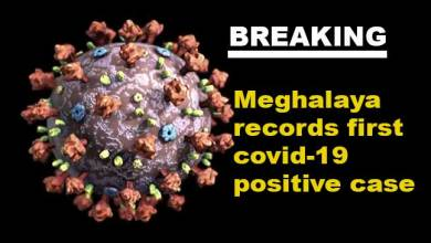 Coronavirus: Meghalaya records state's first covid-19 positive case