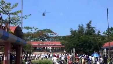 Assam:Armed forces salute corona warriors