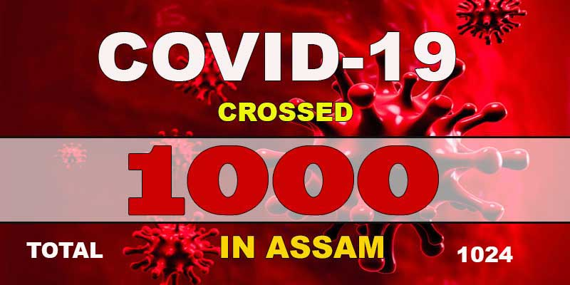 Assam crossed the 1,000 mark of COVID-19 ( Coronavirus ) cases as 89 more people tested positive on Friday, taking the State's total to 1,024.