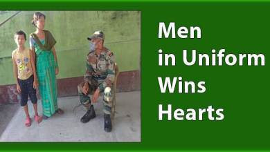 Men in Uniform Wins Hearts