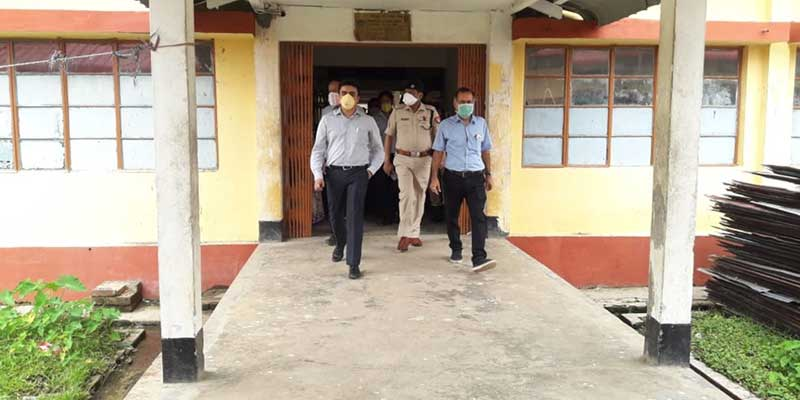 Assam- New DC Hailakandi inspects quarantine facilities