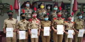 Assam: Award Ceremony of NCC held in group HQ at Jorhat