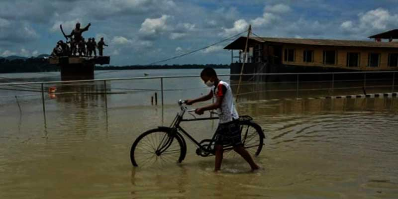 Assam: Flood Situation Remains Grim, 4.63 Lakh People Affected