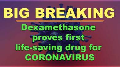 Dexamethasone proves first life-saving drug for CORONAVIRUS