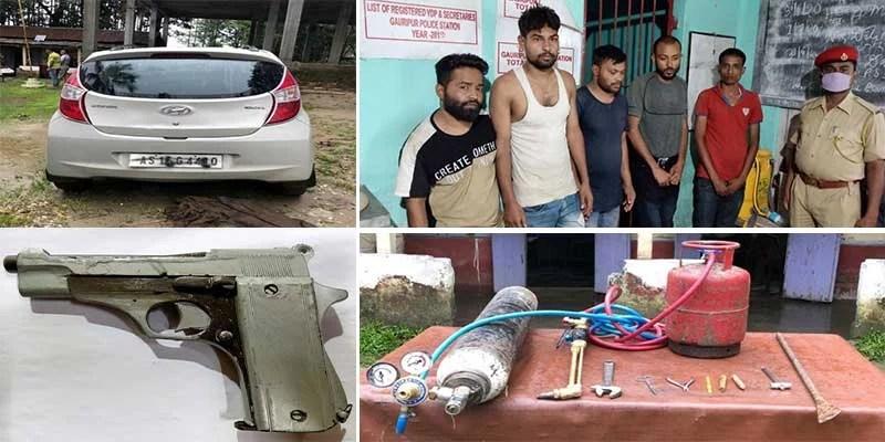 Assam: Dhubri police bust ATM robbers gang, 5 arrested