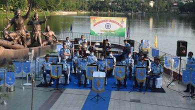 Assam: Air Force Band concert in Guwahati to honour and salute Covid Warriors