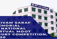 Photo of Assam: Shivam Saraf Memorial 1st  National Virtual Moot Court Competition 2020