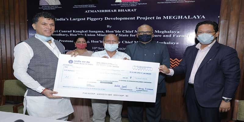 India's Largest Piggery Project Launched in Meghalaya