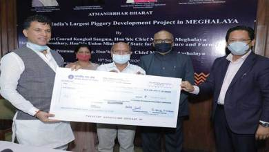 Photo of India's Largest Piggery Project Launched in Meghalaya