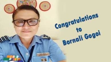 Assam: Bornali Gogoi commissioned as IAF wing commander