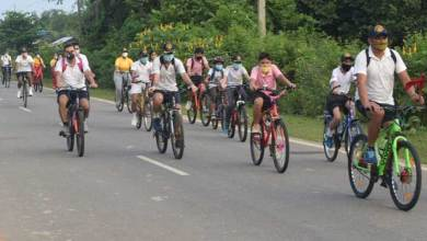 Photo of Assam: Ek Bharat Shreshtha Bharat Cycle Rally