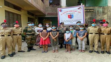 Photo of Assam: NCC steps forward to help orphanages in Guwahati