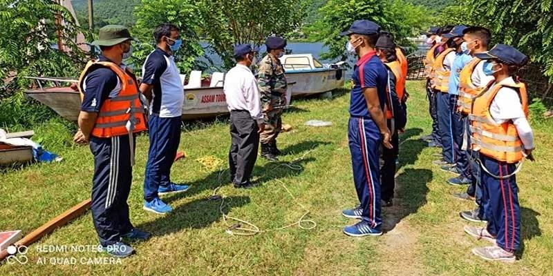 Assam: Guwahati NCC group commander visits 48 Naval NCC