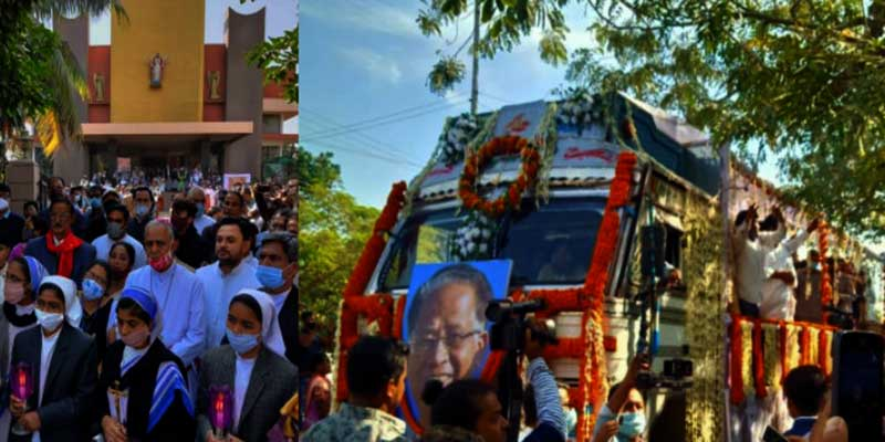 Assam: Former Chief Minister Tarun Gogoi cremated