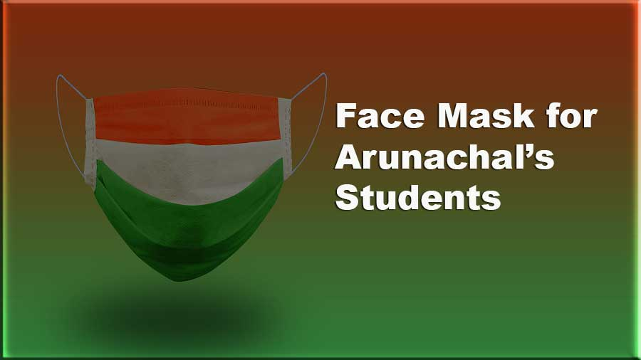 Arunachal: Students to wear tri-colour Khadi Face Masks in School