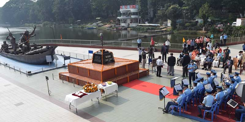 Assam: Armed Forces Flag Day celebrated