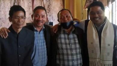 Mizoram:ChakmaDistrict BJP leader Dangu Hemanta Larma joins MNF
