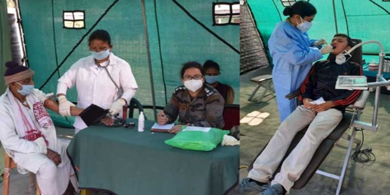 Assam: Army organises Medical camp at Dhamdhama
