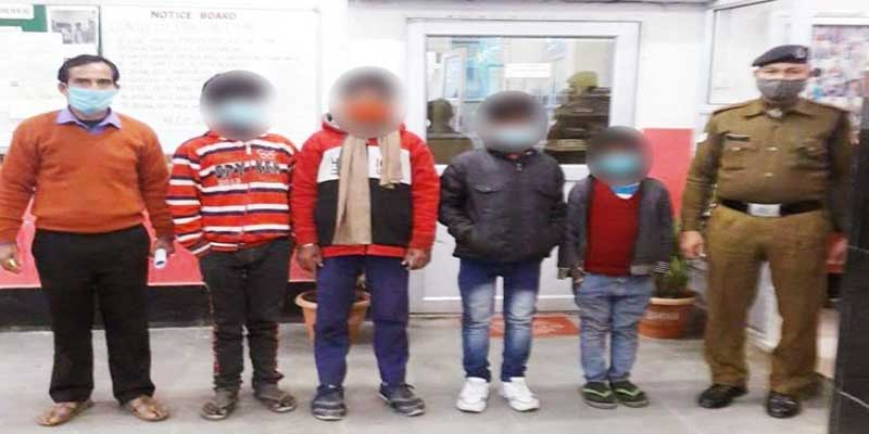 Assam: RPF of NFR rescues 4 minors at Guwahati Railway Station