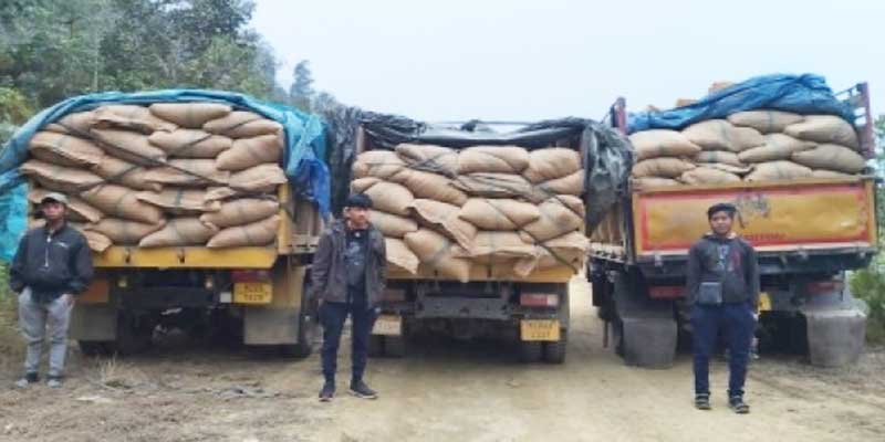 Mizoram- Assam Rifle sezied Drugs worth Rs 6.35 cr, 3 arrested