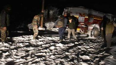 Sikkim: Indian Army evacuates truck drivers stranded in snow