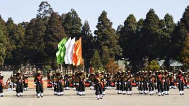 Meghalaya- Assam Regimental Centre conducts Attestation Parade for Young Soldiers in Shillong