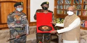 Assam:DG NCC visits NCC group Guwahati, meet Assam Governor
